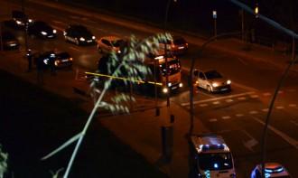 Tres ferits lleus en un accident al Passeig del Riu